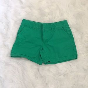 Green Tommy Hilfiger Womens Shorts